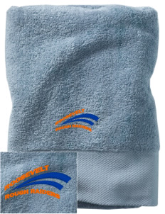 Roosevelt Magnet School Rough Raiders Embroidered Zero Twist Resort Towel