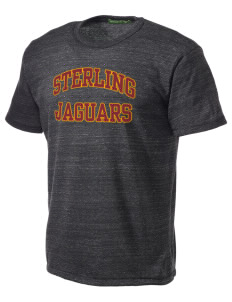 Sterling Middle School Jaguars Alternative Men's Eco Heather T-shirt