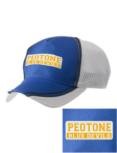 Peotone High School Blue Devils  Embroidered Champion Athletic Cap