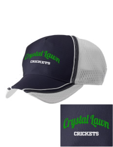 Crystal Lawn Elementary School Crickets  Embroidered Champion Athletic Cap