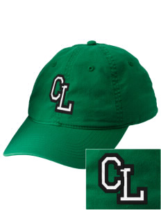 Crystal Lawn Elementary School Crickets Embroidered Vintage Adjustable Cap
