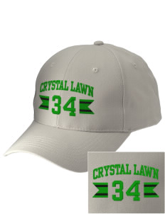 Crystal Lawn Elementary School Crickets Embroidered Low-Profile Cap