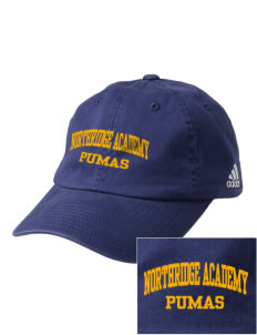 Northridge Academy High School Pumas Embroidered adidas Relaxed Cresting Cap