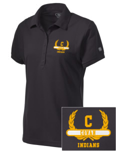 Cowan Elementary School Indians Embroidered OGIO Women's Jewel Polo