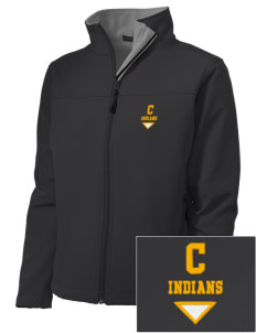 Cowan Elementary School Indians Embroidered Women's Soft Shell Jacket