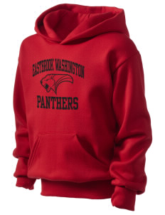 Eastbrook Washington Elementary School Panthers Kid's Hooded Sweatshirt