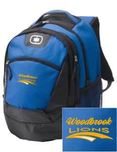 Woodbrook Elementary School Lions Embroidered OGIO Rogue Backpack