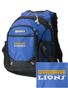 Woodbrook Elementary School Lions Embroidered OGIO Fugitive Backpack