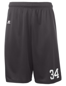 "Excelsior High School na  Russell Deluxe Mesh Shorts, 10"" Inseam"