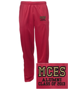 Mount Comfort Elementary School Mounties Embroidered Men's Tricot Track Pants