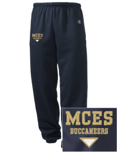 Mount Comfort Elementary School Mounties Embroidered Champion Men's Sweatpants