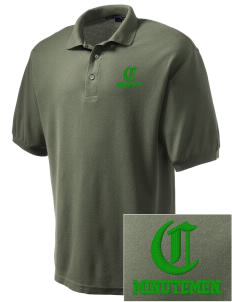 Concord High School Minutemen Embroidered Men's Silk Touch Polo
