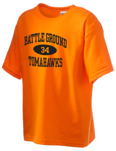 Battle Ground Middle School Tomahawks Kid's 6.1 oz Ultra Cotton T-Shirt