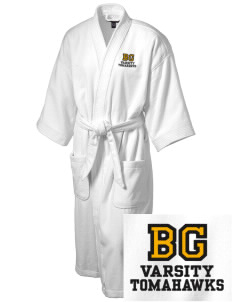 Battle Ground Middle School Tomahawks Embroidered Terry Velour Robe