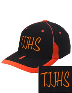 Tripoli Junior & Senior High School Panthers Embroidered M2 Universal Fitted Contrast Cap