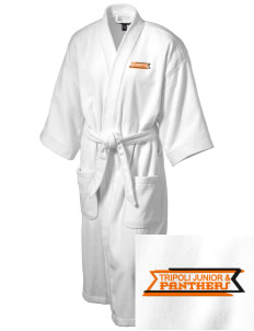 Tripoli Junior & Senior High School Panthers Embroidered Terry Velour Robe