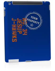 Jesup High School J-Hawks Apple iPad 2 Skin