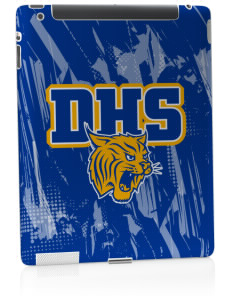 Durant High School Wildcats Apple iPad 2 Skin