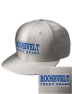 Roosevelt Elementary School Teddy Bears  Embroidered New Era Flat Bill Snapback Cap
