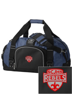 Sioux Central Junior High School Rebels  Embroidered OGIO Big Dome Duffel Bag