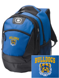 MFL MarMac School - McGregor Center Bulldogs Embroidered OGIO Rogue Backpack
