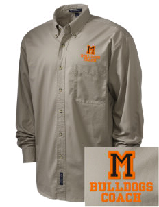 Mediapolis Middle School Bulldogs Embroidered Men's Twill Shirt