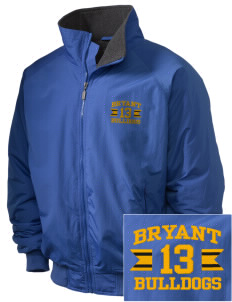 Bryant Elementary School Bulldogs Embroidered Holloway Men's Tall Jacket