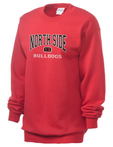 North Side Elementary School Bulldogs Unisex 7.8 oz Lightweight Crewneck Sweatshirt