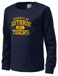 Guthrie Center Junior High School Tigers  Kid's Long Sleeve T-Shirt