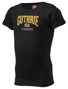Guthrie Center Junior High School Tigers  Girl's Fine Jersey Longer Length T-Shirt