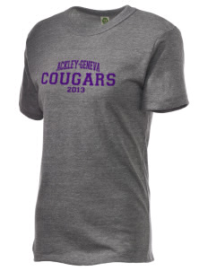 Ackley-Geneva Elementary School Cougars Embroidered Alternative Unisex Eco Heather T-Shirt
