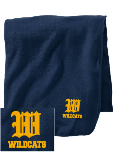 Taft Elementary School Wildcats Embroidered Holloway Stadium Fleece Blanket