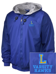 Lynnville-Sully Elementary School Hawks Embroidered Holloway Men's Hooded Jacket