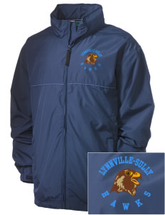 Lynnville-Sully Elementary School Hawks Embroidered Men's Element Jacket