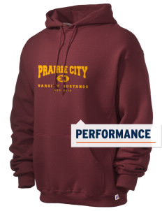 Prairie City Elementary School Mustangs Russell Men's Dri-Power Hooded Sweatshirt