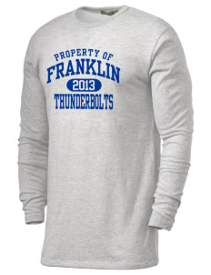 Franklin Middle School Thunderbolts Alternative Men's 4.4 oz. Long-Sleeve T-Shirt