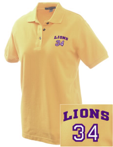 Central Lyon Elementary School Lions Embroidered Women's Pique Polo
