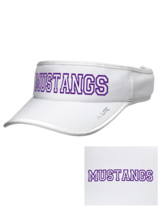 Ferguson Elementary School Mustangs Embroidered Lite Series Active Visor