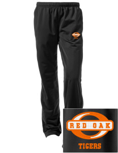 Red Oak Middle School Tigers Embroidered Women's Tricot Track Pants