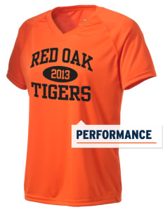 Red Oak Middle School Tigers Holloway Women's Zoom Performance T-Shirt