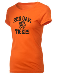 Red Oak Middle School Tigers Holloway Women's Groove T-Shirt