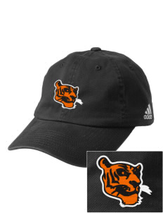Red Oak Middle School Tigers Embroidered adidas Relaxed Cresting Cap