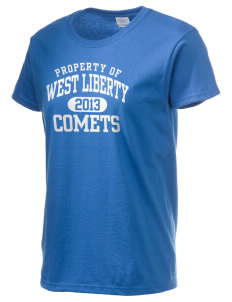 West Liberty High School Comets Women's 6.1 oz Ultra Cotton T-Shirt
