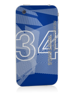 Newell-Fonda Middle School Mustangs Apple iPhone 3G/ 3GS Skin