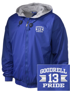 Goodrell Middle School Pioneers Embroidered Holloway Men's Hooded Jacket