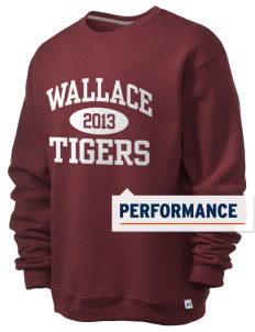 Wallace Elementary School Tigers  Russell Men's Dri-Power Crewneck Sweatshirt