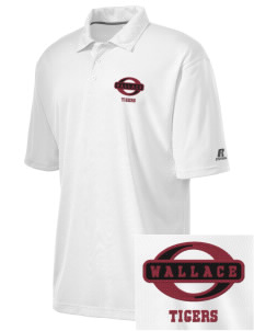 Wallace Elementary School Tigers Embroidered Russell Coaches Core Polo Shirt
