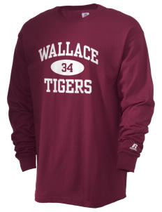 Wallace Elementary School Tigers  Russell Men's Long Sleeve T-Shirt