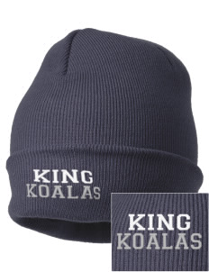 King Elementary School Koalas Embroidered Knit Cap