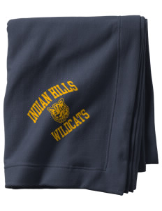 Indian Hills Junior High School Wildcats  Sweatshirt Blanket